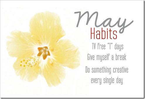 may habits
