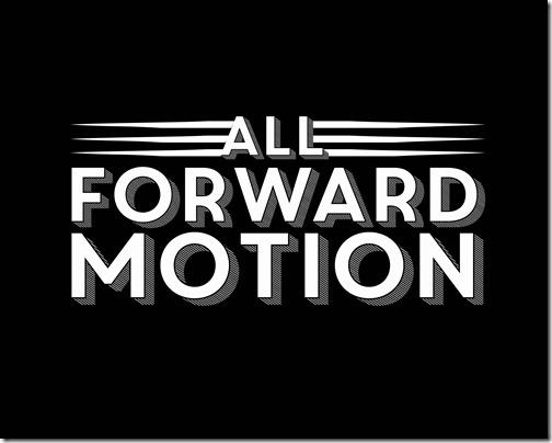 all forward motion