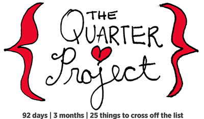 the quarter project