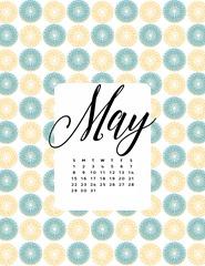 May Printable Calendar2