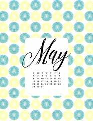 May Printable Calendar3